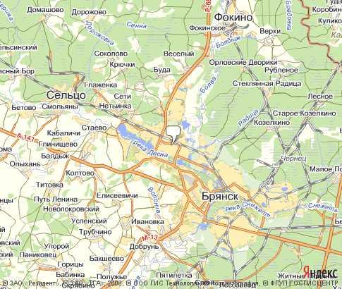 Gps Карта Брянск