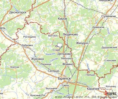 Дятьковский район • брянская область