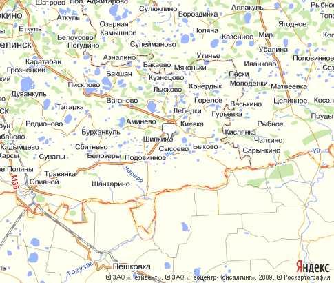 Чудиново Челябинская Область На Карте
