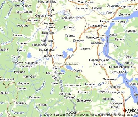 Политическая карта ширинский на