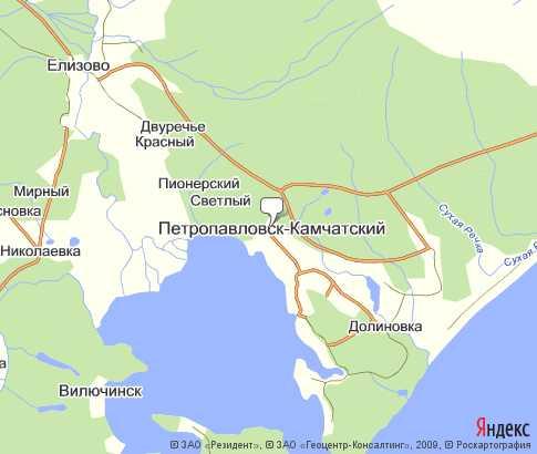 г. Петропавловск-Камчатский