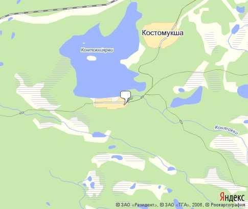 Чогозеро На Карте
