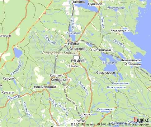 п. Рускеала - карта, Республика Карелия , Северо-западный ...: http://karta-russia.ru/kareliya_ruskeala/