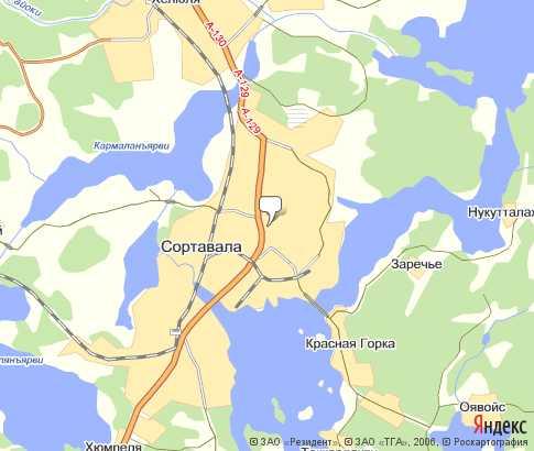 г. Сортавала - карта, Республика Карелия , Северо-западный ...: http://karta-russia.ru/kareliya_sortavala/