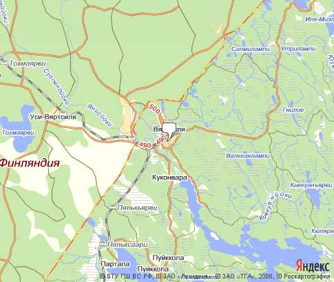 пгт Вяртсиля - карта, Республика Карелия , Северо-западный ...: http://karta-russia.ru/kareliya_vyartsilya/