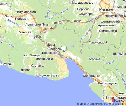 новороссийск рыбалка карта