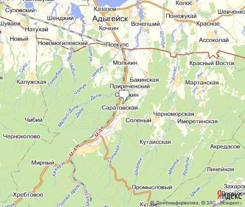 Карта: Саратовская