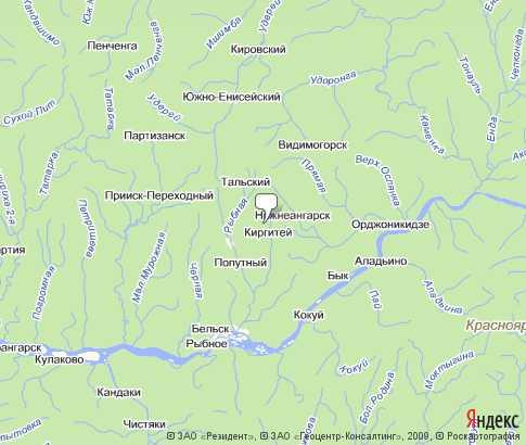 Мотыгинский Район Карта