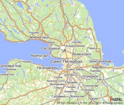Карта: Выборгский