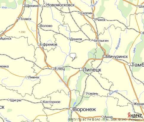 село борино липецкая область