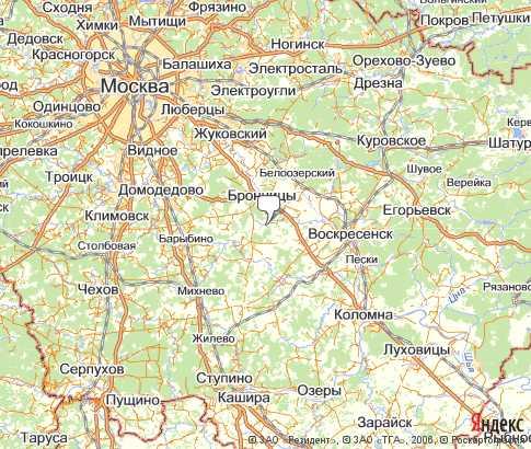 Карта: Домодедовский