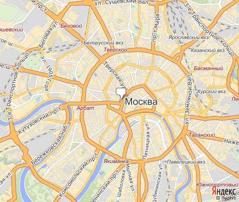 Карта: Москва