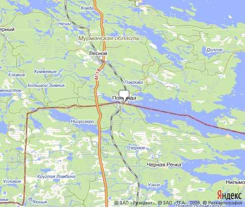 Спутниковая Карта Мурманской Области Териберка