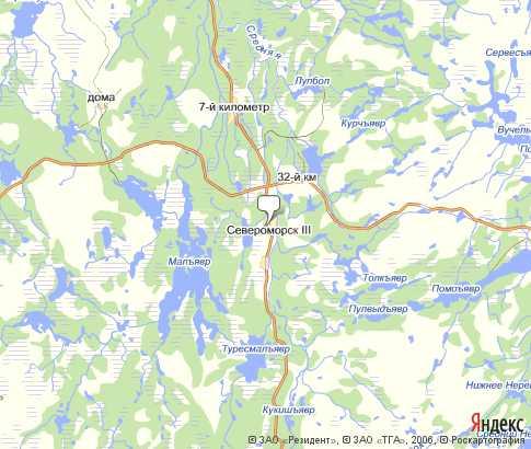 Карта Североморска С Улицами И Номерами Домов
