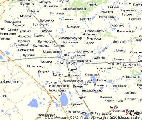 Политическая карта карасукский на