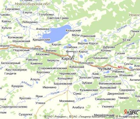 Каргатский район - карта, Новосибирская область ...: http://karta-russia.ru/novosibirskaya_kargatskiy/