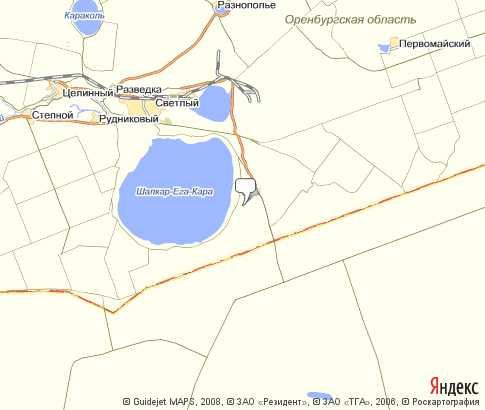 карта оренбургской области рыболовная карта