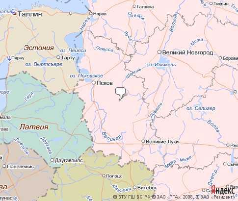 Карты субъектов Российской