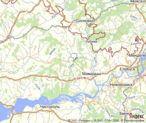 Спутниковая Карта Черкасской Области