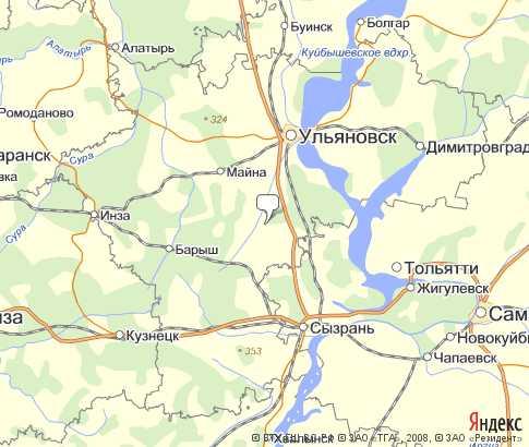 Карта Ульяновска С Номерами Домов
