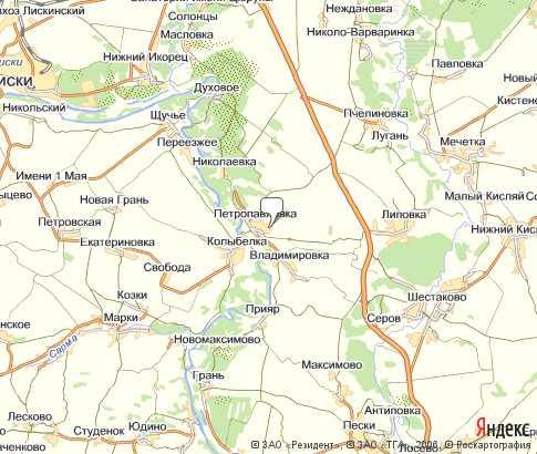 Карта: Репное